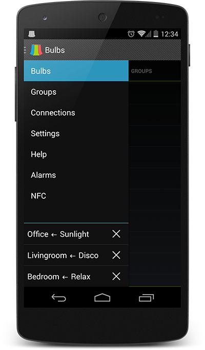 Alarms, Widgets, NFC, and Automation with LampShade Pro